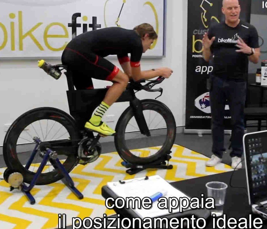 Bike fitting shootscreen