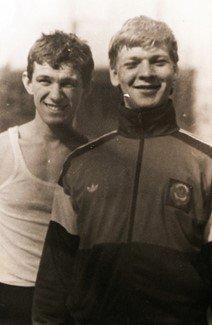Nikolai Razouvaev with teameateZoukovsky