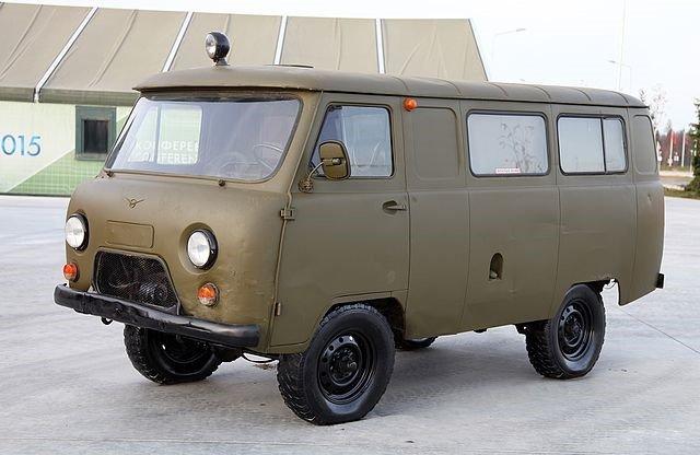 UAZ Soviet Van